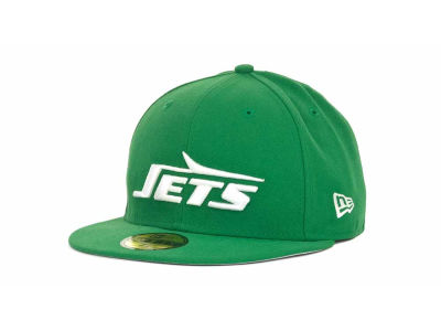 New York Jets NFL Historic Basic 59FIFTY Cap Hats