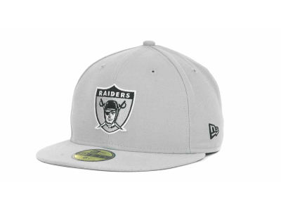 Oakland Raiders NFL Historic Basic 59FIFTY Cap Hats