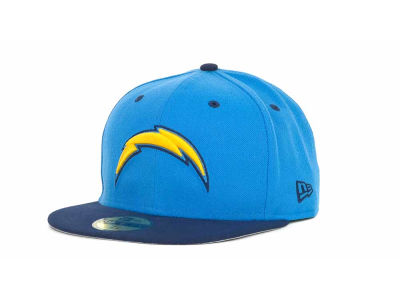 Los Angeles Chargers NFL 2 Tone 59FIFTY Cap Hats