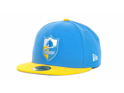 San Diego Chargers NFL Historic Basic 59FIFTY Cap Hats