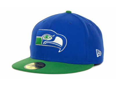 Seattle Seahawks NFL Historic Basic 59FIFTY Cap Hats