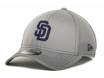 San Diego Padres MLB Gray Neo 39THIRTY Cap Hats