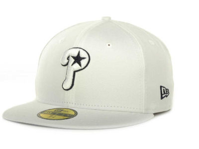 Philadelphia Phillies MLB White On Color 59FIFTY Cap Hats