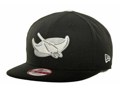 Tampa Bay Rays MLB Black Ice 9FIFTY Snapback Cap Hats