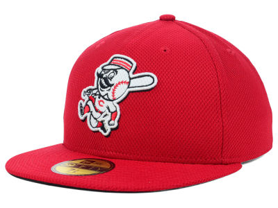 Cincinnati Reds MLB Diamond Era BP 59FIFTY Cap Hats