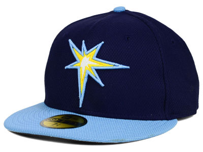 Tampa Bay Rays MLB Diamond Era 59FIFTY Cap Hats