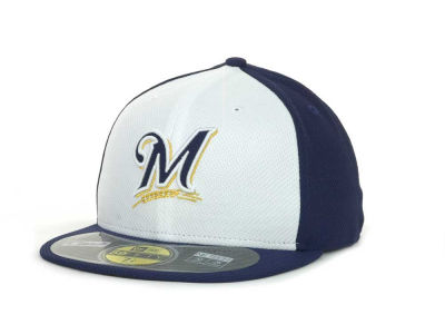 Milwaukee Brewers MLB Kids Diamond Era 59FIFTY Cap Hats