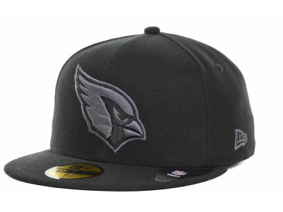Arizona Cardinals New Era Nfl Black Gray Basic 59fifty Cap