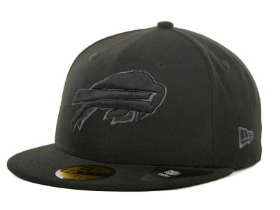 Buffalo Bills NFL Black Gray Basic 59FIFTY Cap Hats