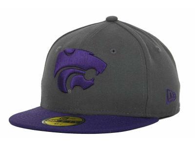 new styles a543f 87666 Kansas State Wildcats New Era NCAA Youth 2 Tone Graph TC 59FIFTY Cap    lids.com