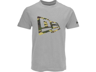 New Era Branded Camo Flag T-Shirt