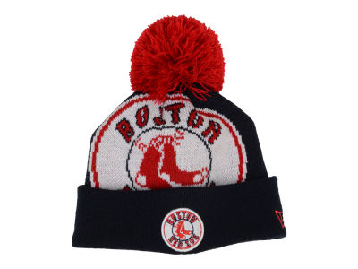 Boston Red Sox MLB Junior Woven Biggie Knit Hats