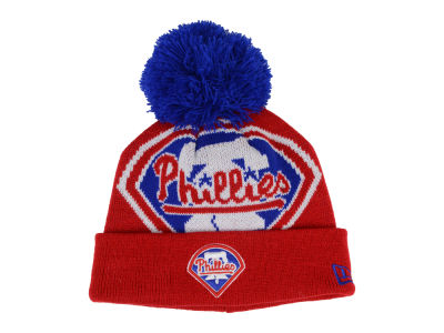 Philadelphia Phillies MLB Junior Woven Biggie Knit Hats