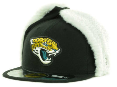 Jacksonville Jaguars NFL On Field Dog Ear 59FIFTY Cap Hats
