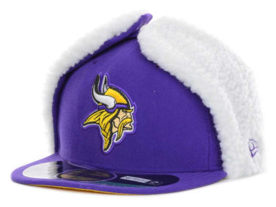Minnesota Vikings NFL On Field Dog Ear 59FIFTY Cap Hats