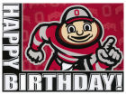 Ohio State Buckeyes Birthday Card Holiday