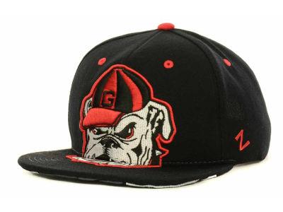 lowest price cdc7b 9db92 Georgia Bulldogs Zephyr NCAA Menace Snapback Cap   lids.com