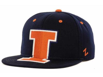 sale retailer 7a172 89756 Illinois Fighting Illini Zephyr NCAA Menace Snapback Cap 85%OFF