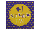 LSU Tigers 12x12 Tiger Fan Canvas Home Office & School Supplies