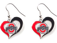 Aminco Inc. Swirl Heart Earrings Apparel & Accessories