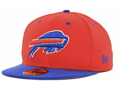 Buffalo Bills NFL 2 Tone 59FIFTY Cap Hats