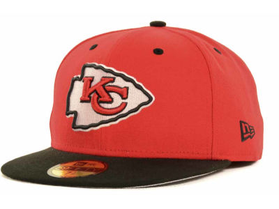 Kansas City Chiefs NFL 2 Tone 59FIFTY Cap Hats