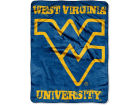West Virginia Mountaineers The Northwest Company Micro Raschel 46x60 Grunge Bed & Bath