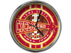 Iowa State Cyclones Chrome Clock Bed & Bath