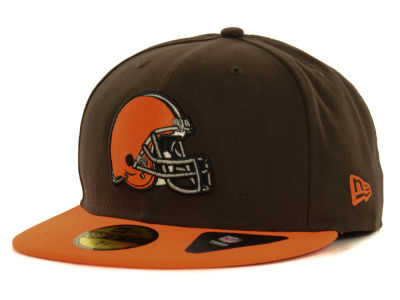 Cleveland Browns NFL 2 Tone 59FIFTY Cap Hats
