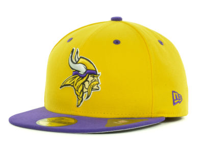 Minnesota Vikings NFL 2 Tone 59FIFTY Cap Hats