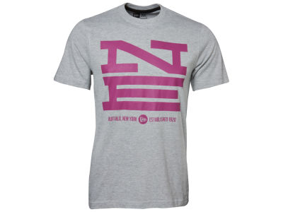 New Era Branded Block Up T-Shirt