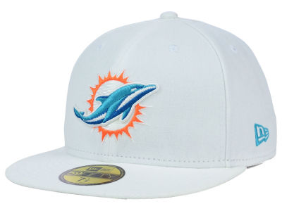 Miami Dolphins NFL 2012 On Field 59FIFTY Cap Hats