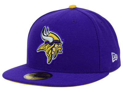 Minnesota Vikings NFL Official On Field 59FIFTY Cap Hats