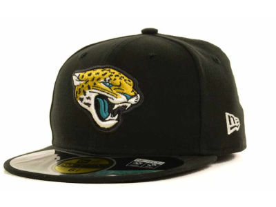 Jacksonville Jaguars NFL Official On Field 59FIFTY Cap Hats