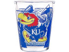 Kansas Jayhawks Hunter Manufacturing 3D Wrap Color Collector Glass Collectibles
