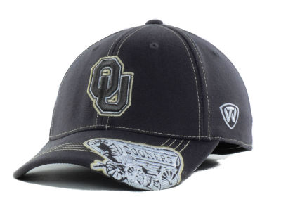 promo code 04aed 513c8 Oklahoma Sooners Top of the World NCAA Slate One-Fit Cap   lids.com