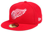 Detroit Red Wings New Era NHL Basic 59FIFTY Cap Fitted Hats