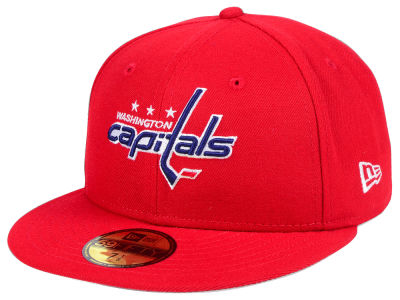 Washington Capitals NHL Basic 59FIFTY Cap Hats