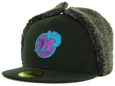 Dallas Mavericks NBA Hardwood Classics Pattern'd Up Dog Ear 59FIFTY Cap Hats
