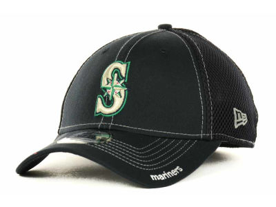 Seattle Mariners MLB 2015 Team Color Neo 39THIRTY Cap Hats