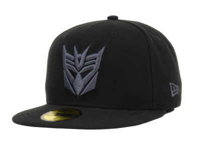 Transformers Hero Black Gray Basic 59fifty Cap Lids Com