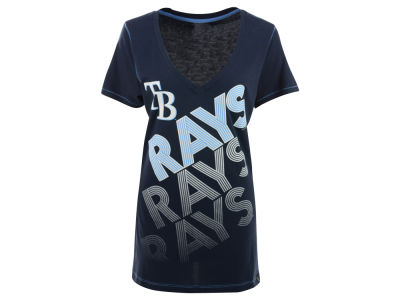 Tampa Bay Rays MLB Women's Athletic Baby Jersey T-Shirt