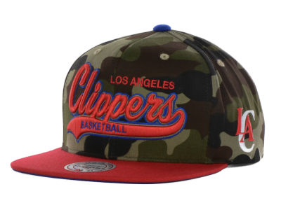 Los Angeles Clippers Mitchell Amp Ness M And N Camo