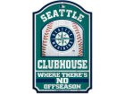 Seattle Mariners Wincraft 11x17 Wood Sign Kitchen & Bar