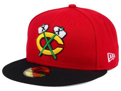 Chicago Blackhawks New Era Nhl Basic 59fifty Cap Lids Com