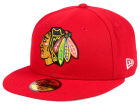 Chicago Blackhawks New Era NHL Basic 59FIFTY Cap Fitted Hats