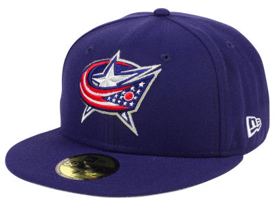 Columbus Blue Jackets NHL Basic 59FIFTY Cap Hats