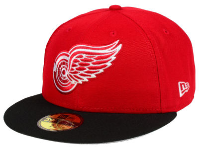 Detroit Red Wings NHL Basic 59FIFTY Cap Hats