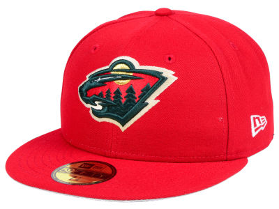 Minnesota Wild NHL Basic 59FIFTY Cap Hats