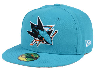 San Jose Sharks NHL Basic 59FIFTY Cap Hats